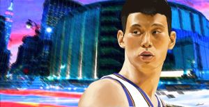 Jeremy Lin by Nash-Artz
