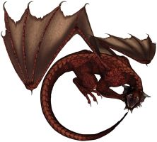 Dragon - Red 2 by markopolio-stock