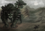 The Earth Colossus by Makirou