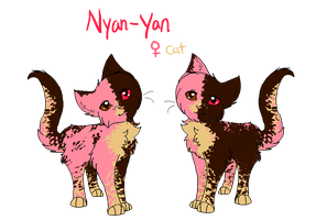 Nyan-Yan Ref by PurryProductions-Inc