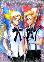 APH 5th and 6th of June by MaryIL