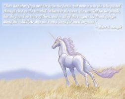 The Last Unicorn by Lizzy23
