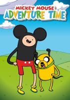 Mickey's Adventure Time by Satanisapunk