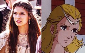 Caitlin Stasey - Princess Fala (Allura) - GoLion by BlueWolfRanger95