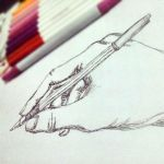 hand sketch by shadowfax913