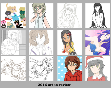 2016 Art Review by ninjapet