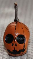 Pumpking skull 56 SOLD by angelacapel
