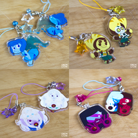 Lapis, Ratchet and Fusion charms by chicinlicin
