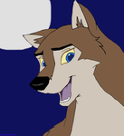 Aleu the Wolfdog by WolfSpirit783
