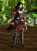 Wonder Woman Armor Mod by RazKurdt