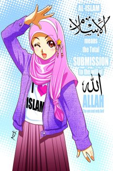Islam means... by Nayzak
