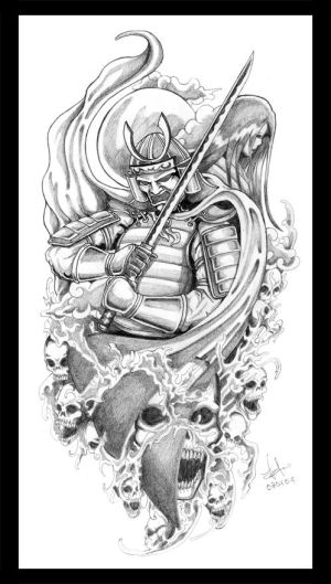 Samurai Tattoo Design To understand the symbolism and meaning that Japanese