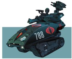 G I Joe Resolute Hiss Tank by dusty-abell