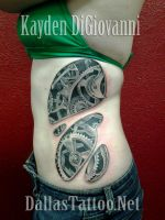 Steampunk Biomechanical Ribs by kayden7