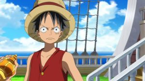 Monkey D. Luffy by Jun-Gaara