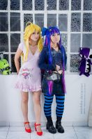Anarchy Sisters posing::::: by Witchiko