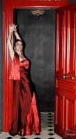 Robe rouge / red Dress 8 by inferno-sensus