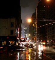 New York City at Night by TampaDude