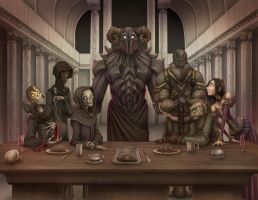 Commission 16- The Dark Disciples by Dreamkeepers
