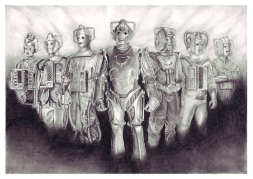 Cyberman Ages by ktalbot