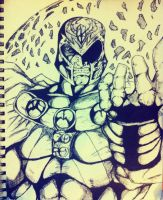 Magneto drawing by DiegoE05
