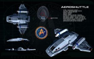 Aeroshuttle class ortho by unusualsuspex