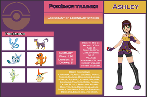 Ashley PokeCard by endaria