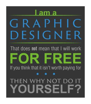 I am: a graphic designer by Majestic-Deer