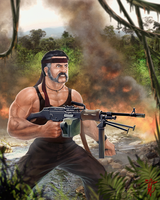 George of the Rambo by thedarkcloak
