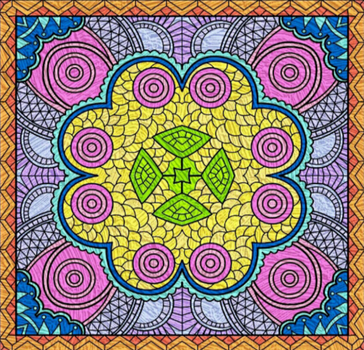 Stained Glass Design by AlmightyPineapple