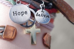 Hope. Peace. Believe. by miserableink