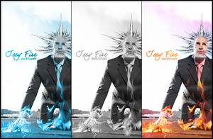 IceyFire. Business man..or not by MatthewTung