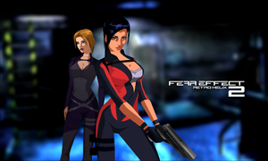 Fear Effect Retro Helix - Wallpaper Montage by FearEffectInferno
