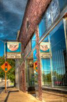 Shelbyville Record Shop by soraxtm