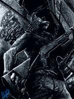 Shotgun Wolf Thing by Blue-Paper