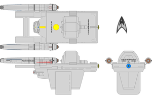USS Sherman NCC-G1400 - NTOS by SciFiRocker