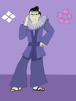 Redesiging Shakespeare - Friar Lawrence by snowcloud8