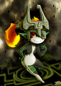 Midna by GaelRice