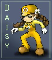 Plumber Daisy by angry-green-toast