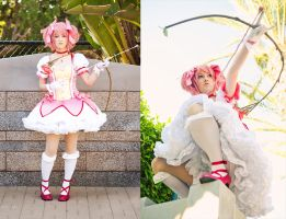 Magical Girl Madoka by RuffleButtCosplay