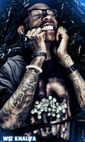 Wiz khalifa by th3xPiw0r