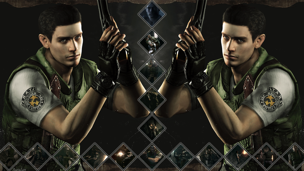 Chris Redfield (2) by AuraIan