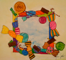 window to candyland by JuliaGeisler