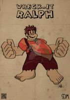 1920s Wreck-It Ralph by Agent-Delta