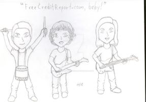 FreeCreditReport.com Chibis-2 by MelyssaThePunkRocker
