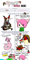 The Double Meme by Trichechus