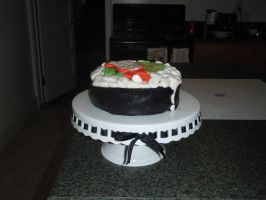 Sushi Roll Cake View 1 by SarahMame