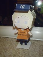 annabeth chase papercraft by randommanatee