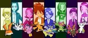 The Original Digidestined by racookie3