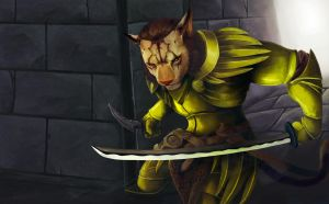Khajiit Assassin by Numberslayer